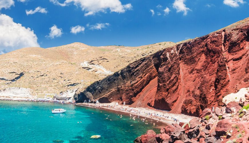 Best-Beaches-in-Santorini-Kamari-Tours-Excursions