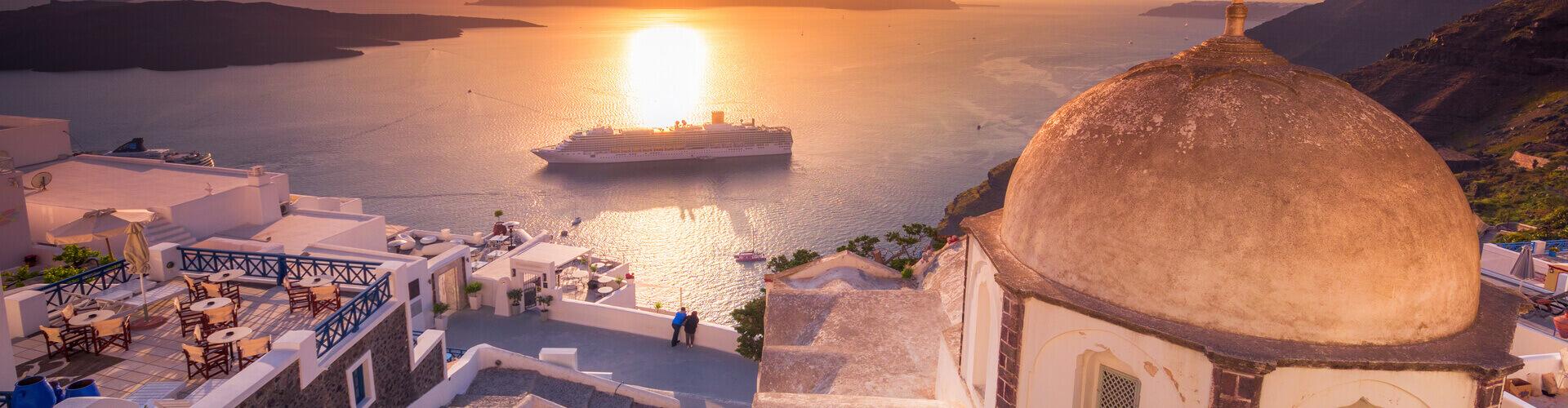 Santorini-Sunset-Kamari-Tours-Excursions
