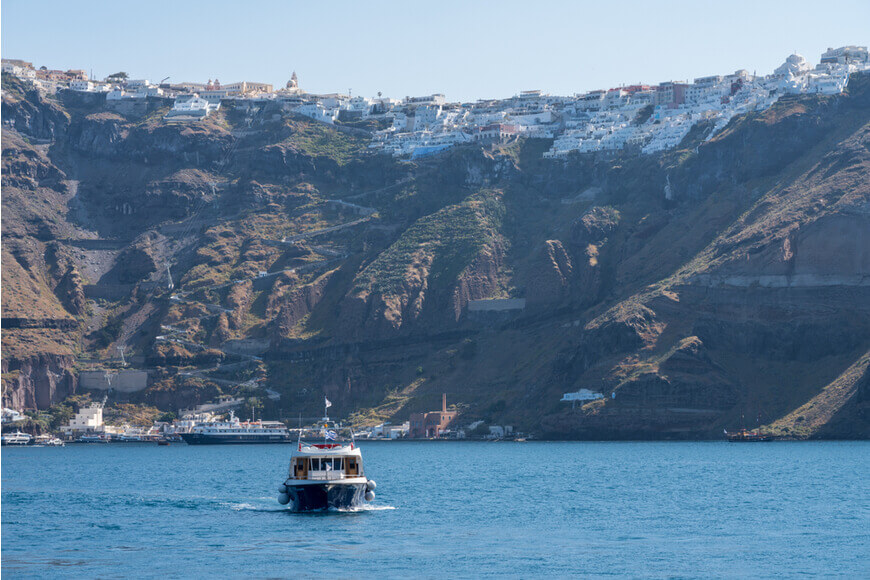 Santorini Top Things to Do and Must-See Attractions - Enjoy a Caldera, Sunset and Boat Tour - Kamari Tours Excursions