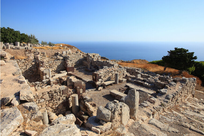 Ancient Thera - Kamari Tours Excursions