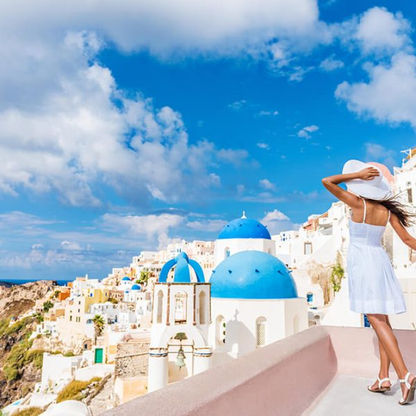 Full Day Santorini Traditional Villages Sunset Tour - Kamari Tours Excursions