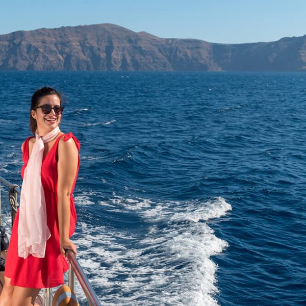 Full Day Santorini Volcano & Oia Sunset Tour - Kamari Tours Excursions