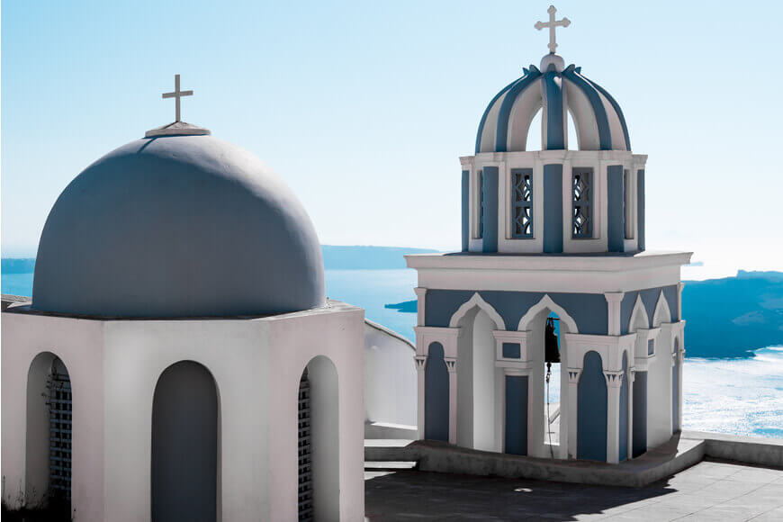 Orthodox Church Fira - Kamari Tours Excursions