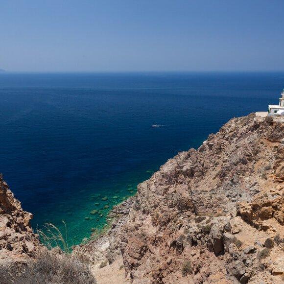 The Lighthouse of Akrotiri - Kamari Tours Excursions