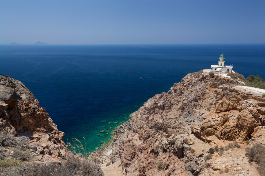 The Lighthouse of Akrotiri - Kamari Tours Excursions
