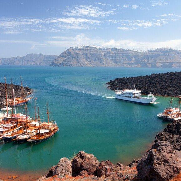 Volcanic Islands - Kamari Tours Excursions
